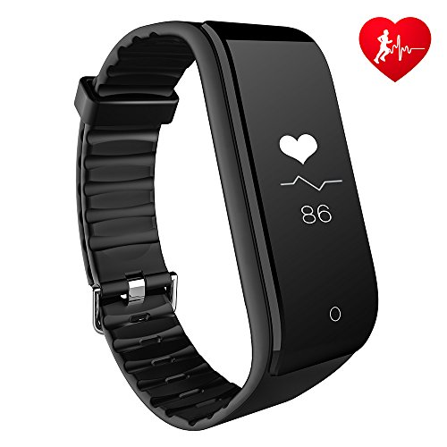 Fitness Tracker Heart Rate Monitor RIVERSONG Smart Bracelet Step Counter Pedometer