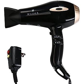 Amazon Com Wazor Professional Hair Dryer Ionic Ceramic