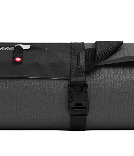 Manduka Go Play Yoga Mat Carrier with Pocket, Adjustable Strap, Suitable for all Yoga Mats