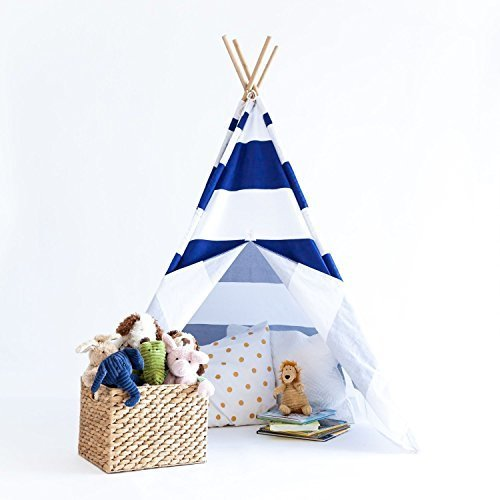 Lily & Logan Indoor Kids Teepee - Navy