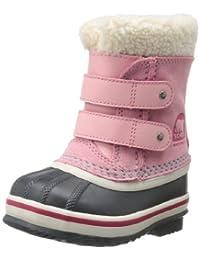 Sorel Toddler 1964 Pac Strap Winter Boot,Coral Pink,4 M US Toddler