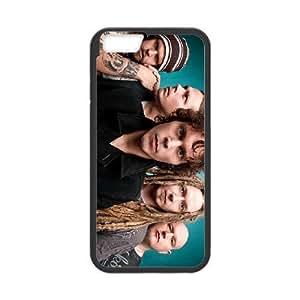 HIM 3 Protectores 6s de 4.7 pufunda LGadas del teléfono celular Funda cubierta de color negro, funda de plástico caja del teléfono celular