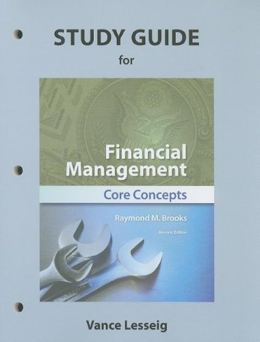 Study Guide for Financial Management: Core Concepts