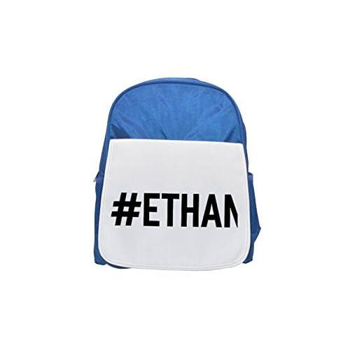 # Ethan Printed Kid 's blue Backpack, cute Backpacks, cute small Backpacks, cute Black Backpack, Cool Black Backpack, Fashion Backpacks, Large Fashion Backpacks, Black Fashion Backpack