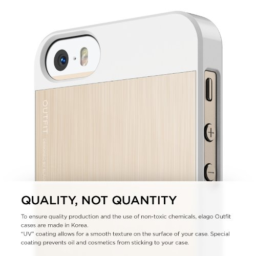 418c749707d elago® S5 Outfit MATRIX Aluminum and Polycarbonate Dual Case for the iPhone  5/5S