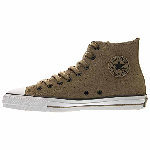 Converse Unisex Chuck Taylor All Star Hallo-Spitze Schuhe SCHOKOLADE / FAST SCHWARZ / WEISS