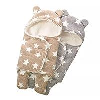 ニッキハウス ベビー おくるみ 暖かい 冬 クマさん 新生児 出産祝い ふわふわ カバーオール おしゃれ バスロープ ブランケット (小, カーキ)