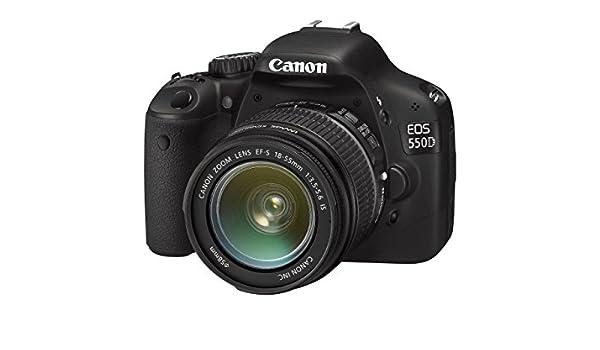 Canon EOS 550D - Cámara réflex digital de 18 Mp (pantalla de 3.2 ...