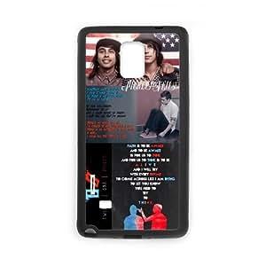 Onshop Custom Twenty One Pilots Pattern Phone Case Laser Technology for Samsung Galaxy Note 4