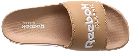 Unisex Zapatos de Classic 000 Field Tan Piscina y Slide Reebok Adulto Rosa Playa White Uq0Ew6wp