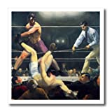 3dRose ht 79452 3 Art Dempsey and Firpo Boxing Match 1924 by Artist