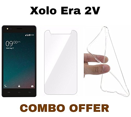on sale 966dc 980ea Khushal Back Cover for Xolo Era 2V Multicolor Silicon Best Price in ...
