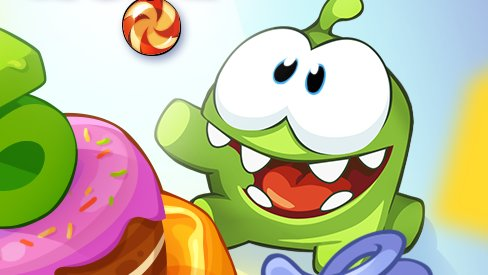 Amazon.com: CUT THE ROPE - Plush toy green
