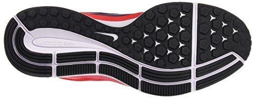 Nike Womens Air Zoom Pegasus 34 Scarpa Da Corsa Leggera Osso / Grigio Cromo-pallido