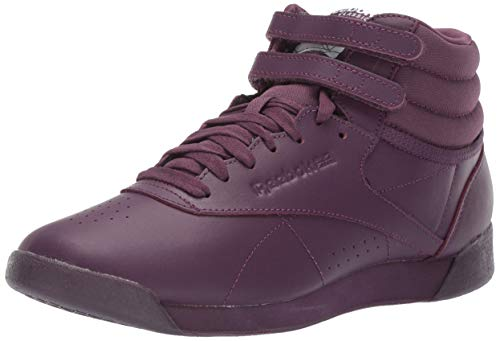 Reebok Women's Freestyle Hi, Urban Violet/White/Peach Twist, 6 M US ()
