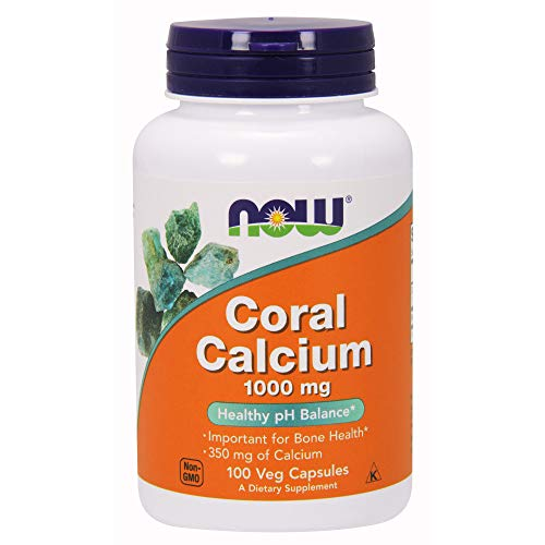 - Now Supplements, Coral Calcium 1000 mg, 100 Veg Capsules