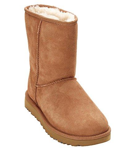 UGG Women's Classic Short II Suede Sheepskin Pull On Boot ()