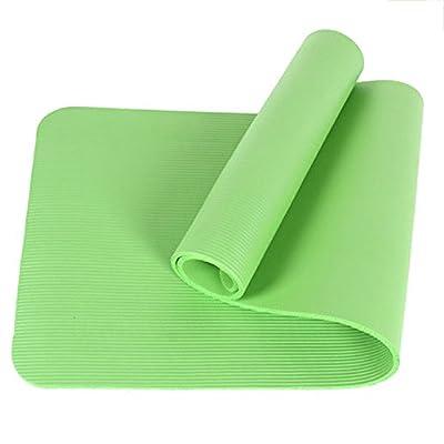 Yoga Mat, ADiPROD 10MM Exercise Thick Non-slip Gym Fitness Durable Pilates Meditation Physio Cushion Pad