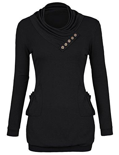 black sweater over dress shirt - 5