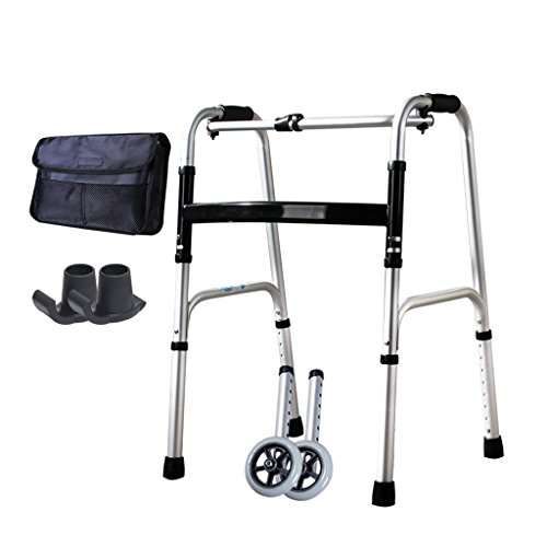 Walking Frame Rollators Elderly Walker Light Standing Stand Crutches Assisted Walking Lower Limb Training