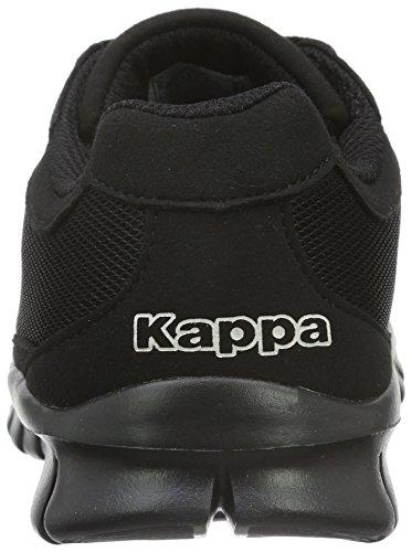 Adulto Kappa 1111 Zapatillas Unisex Rocket Negro Black qSxpFtnHpw