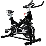 YING R JIAN Exercise Bike Indoor Cycling Bike Stationary Bike Trainer Belt Driven with Flywheel For Sale
