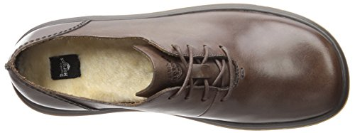 Cordones Oily Brown Lorrie Brown de Martens Zapatos Oxford Dr Mujer New Dark Dark III Illusion para Marrón avYBpqRw