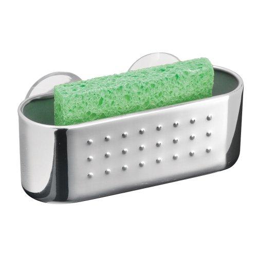 InterDesign Kitchen Suction Sponges Scrubbers