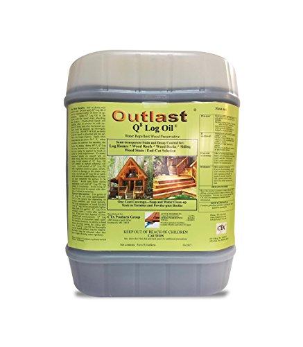Q8 Log Oil 5 Gallon Pail (Natural Base)