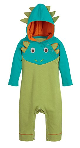 StylesILove Baby Boy 3D Long Sleeves Hoodie Costume Romper (90/12-18 Months, Dragon)