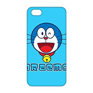 diy zhengCool-benz Cartoon Doraemon (3D)Phone Case for iphone 5/5s/
