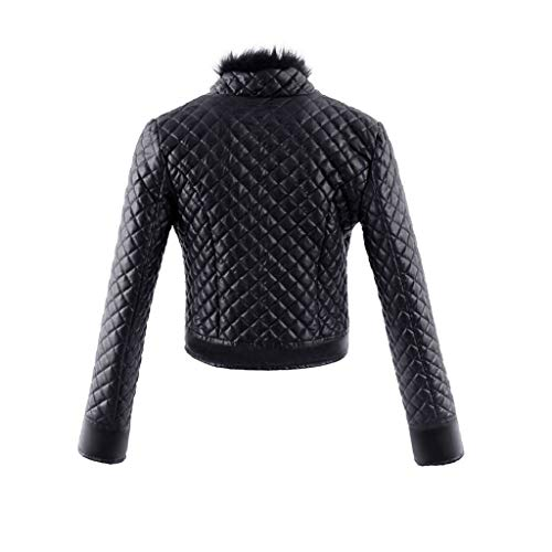 Faux Veste Zalla Biker Style Femmes Racing Cuir Blouson en Cuir V Manteau MEIbax Dames Outwear 8EqZqSw