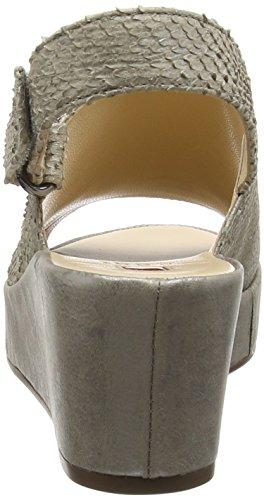 Högl 1- 10 3248 - Sandalias Mujer Plateado - Silber (7700)