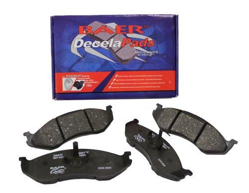 BAER D1363 Sport Pads - Front Brake Pad Set