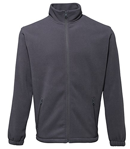 Comfort Collazip Charcoal 2786 Up larga Fleece Sports de manga Men For Camisa qxwTx0a7