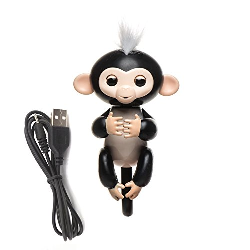 Finger Monkey With Usb Rechargeable Battery   Interactive Smart Toy Mini Monkey   Finger Puppet Robot Makes Sound And Movement For Hours Of Fun   Perfect Kids Toys For Boys And Girls By Shragis