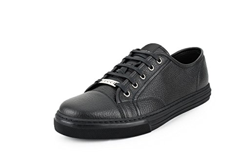 79aff0302 Gucci Men's Pebbled Nappa Leather Lace-up Sneakers, Black 312615 - Buy  Online in UAE. | Shoes Products in the UAE - See Prices, Reviews and Free  Delivery in ...