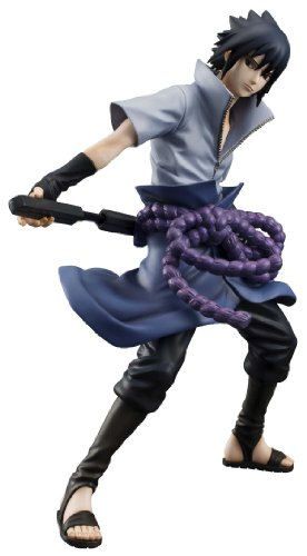 - Megahouse Naruto Shippuden: Sasuke Uchiha GEM Series PVC Figure