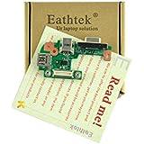 Eathtek New DC Power Jack / VGA / USB IO Circuit Board for Dell Inspiron 15r (N5110) Vostro 3550 PFYC8 series