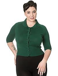 Banned Apparel April Short sleeve Plus Size Vintage Cardigan