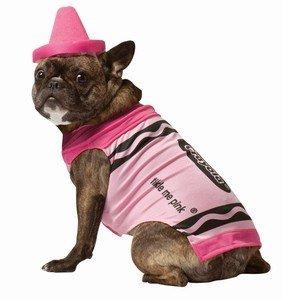 Rasta Imposta - Pet Costume Crayola Pink XL