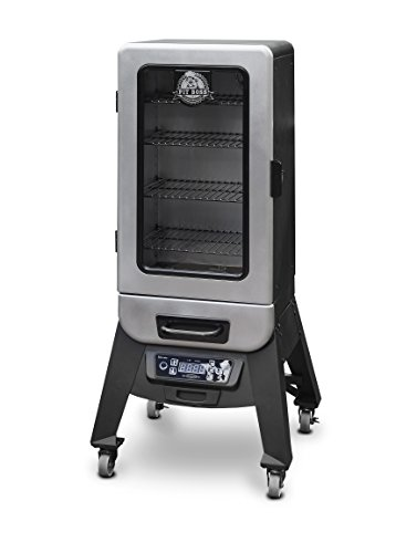 Pit Boss Grills 77232 Digital Vertical Electric Wood Smoker, 3.2 by Pit Boss Grills