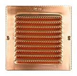 Copper Square Vent with screen - 6'' x 6''