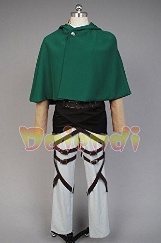 Ataque a los titanes Disfraz de cosplay de legi/ón de reconocimiento para adulto Shingeki no Kyojin de la marca Daiendi