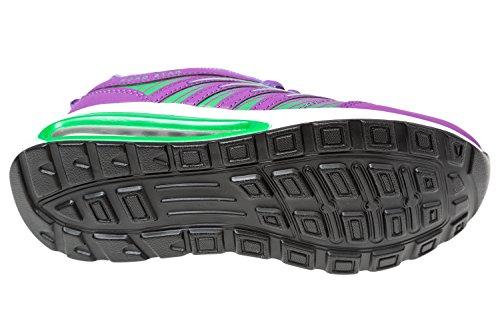 gibra - Zapatillas de Material Sintético para mujer Morado - Lila/Grün