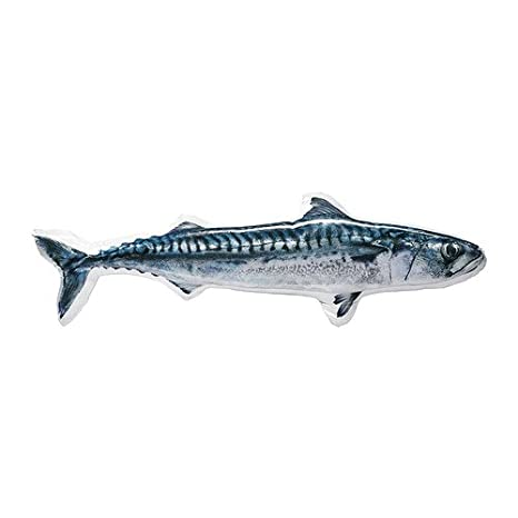 Amazon.com: IKEA lisel del cojín, pescado, color azul: Home ...