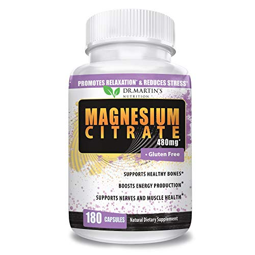 Premium Magnesium Citrate 480mg Absorbable product image
