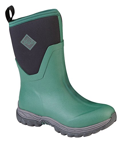 Muck Boots Arctic Sport Ll Extreme Conditions Mid-Height Rubber Women's Winter Boot Green