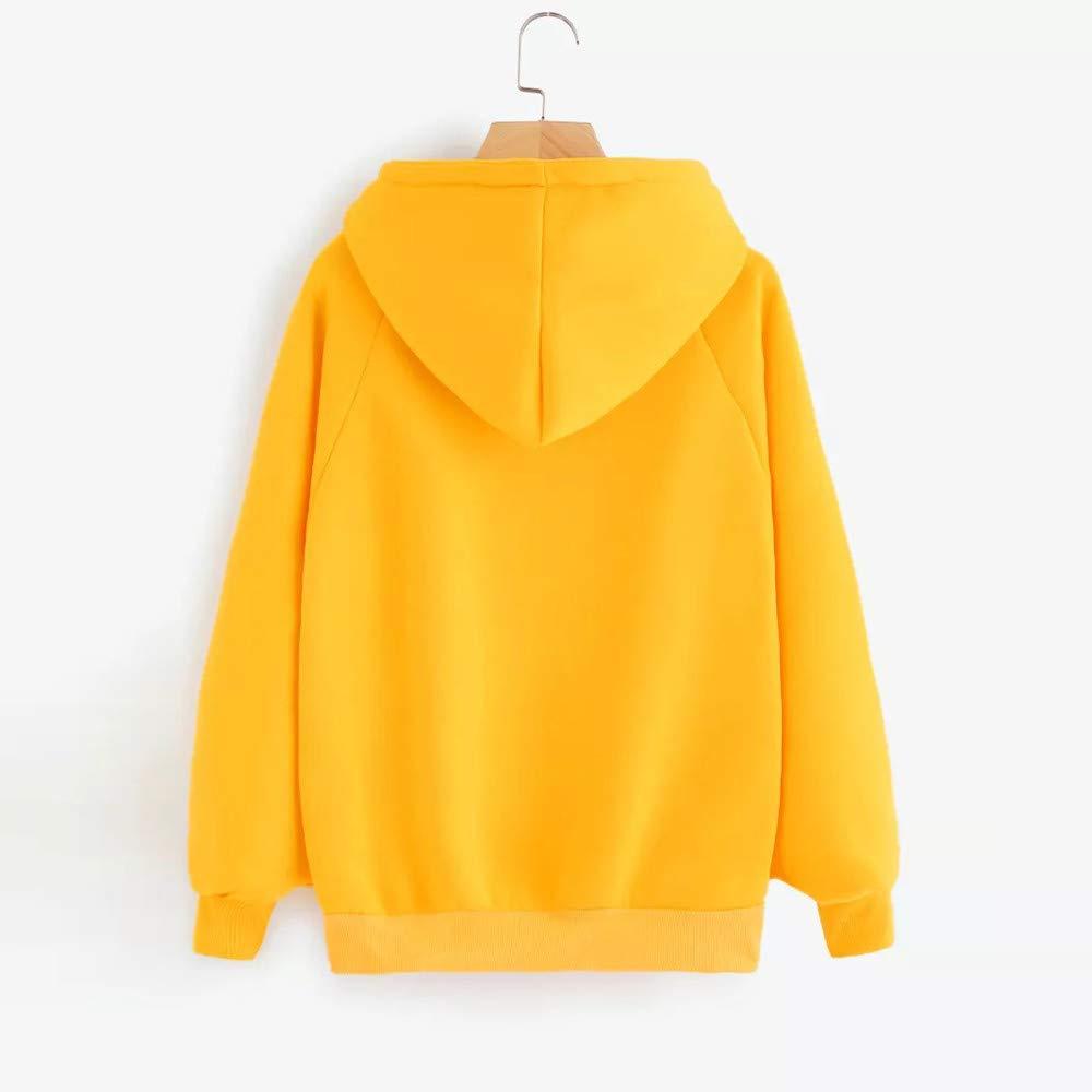 Amazon.com: Womens Hoodies Sweatshirt,Thenlian Hooded Sweatshirt Patchwork Hoodie Solid Long Sleeve Pullover Jumper Hoodie Tops Blouse Crop Sweater(2XL, ...