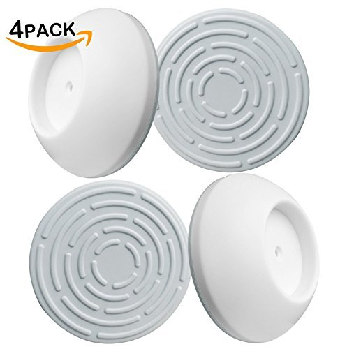 4 Pack Safety Wall Guard Pads for Baby Pressure Gates Wall Protector, Protects Stairs, Doors, Gates & Walls - Best Cup for Active Babies & Pets